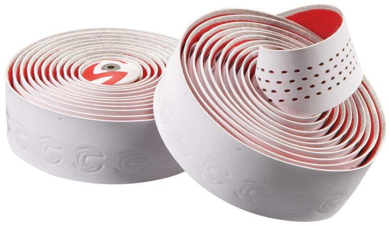 Ruban de cintre Cannondale Premium Plus Microfibre Blanc/Rouge