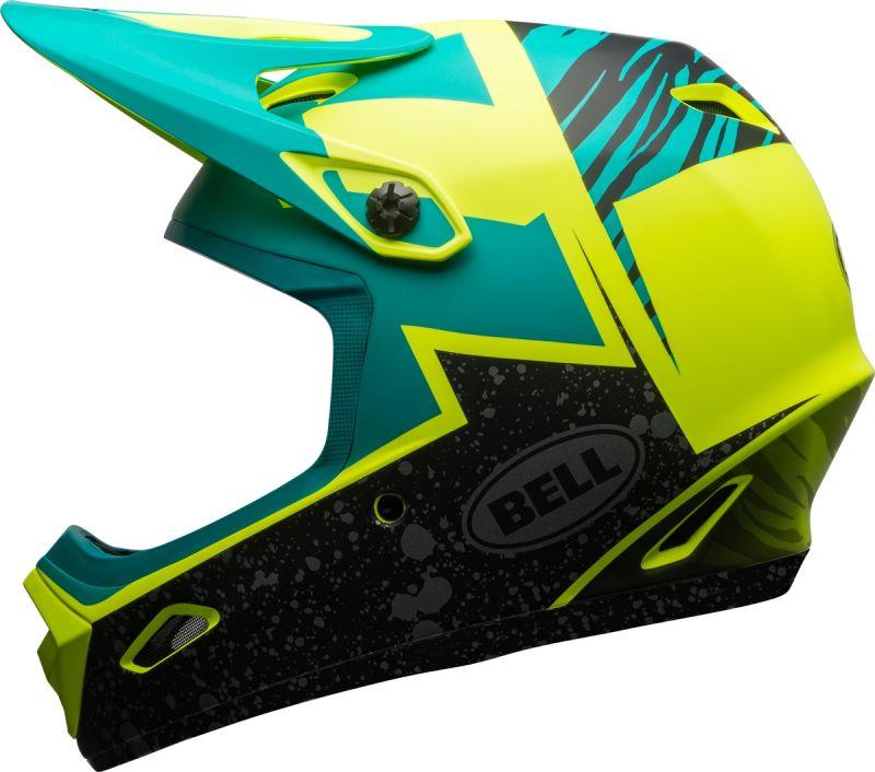 Casque Bell TRANSFER-9 Retina Sear mat/Emerald