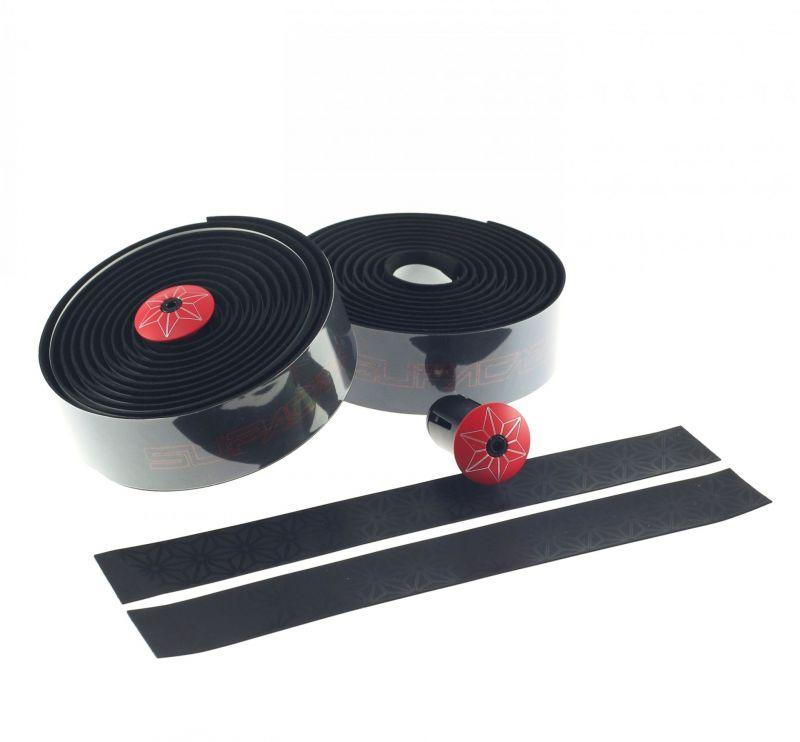 Ruban de cintre Supacaz Super Sticky Kush Tape Print Rouge