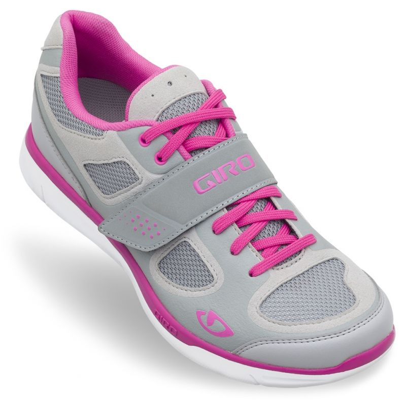 Chaussures femme Giro Whynd Argent/Rose