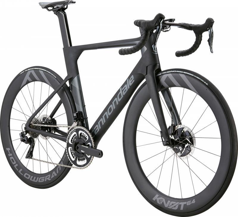 Vélo Cannondale SystemSix HM Dura-Ace Di2 Noir BBQ/Gris Stealth - 1
