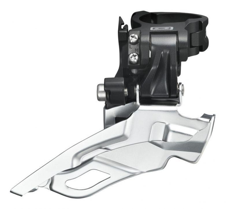 Dérailleur avant Shimano Deore FD-M611X6L Down Swing Dual Pull noir