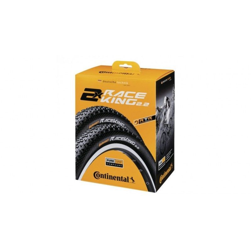 Set de 2 pneus Continental Race King 27.5 x 2.20 Performance TS Tubeless Ready - 1