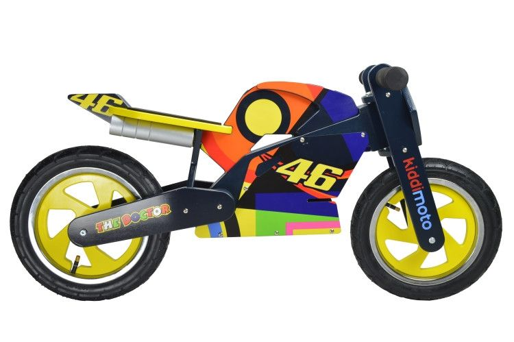 draisienne kiddimoto heroes valentino rossi 2017 2 ans sur. Black Bedroom Furniture Sets. Home Design Ideas