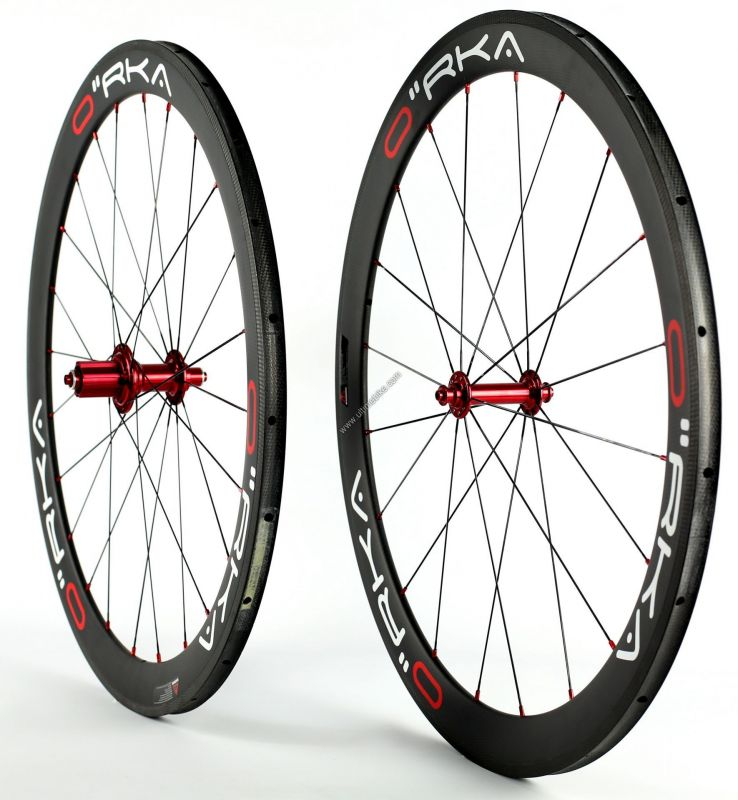 Roue Orka Carbone 50 mm Boyaux corps Campagnolo 10 / 11 v (paire) - 1
