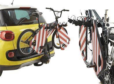 Mousse de protection Mottez pour porte-vélos Rouge/Blanc - 1