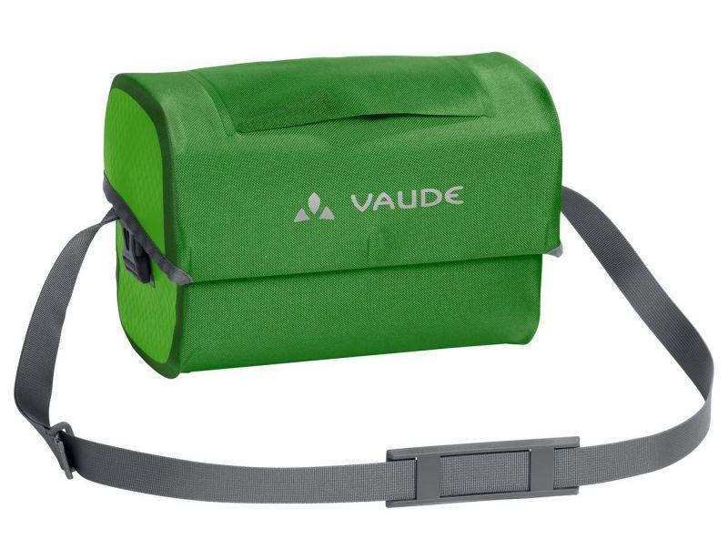 Sacoche étanche de guidon Vaude Aqua Box 6 L + Support KLICKfix Vert Parrot