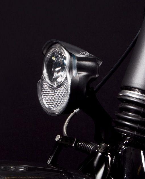 Éclairage avant Spanninga Ergo Xda 1 LED 20 LUX Sur fourche Dynamo et moyeu dynamo - 1