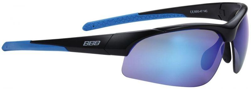 BBB Impress Small Lunettes Noir Mat Verre Bleu Bsg-48 atJMHU