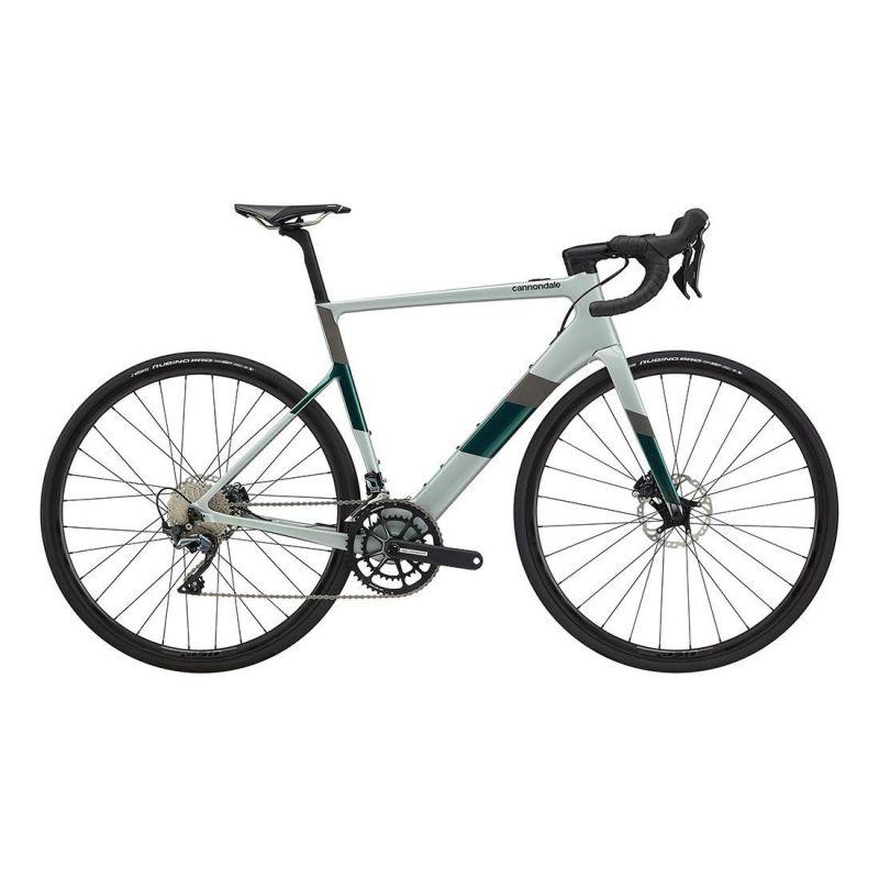 Vélo route électrique Cannondale SuperSix EVO Neo 2 Gris 2020