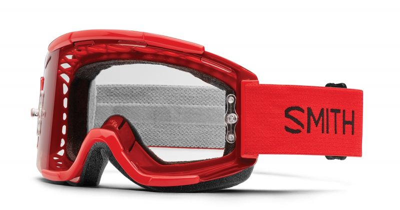 Masque Smith Optics Squad MTB Rouge Firer/Clear