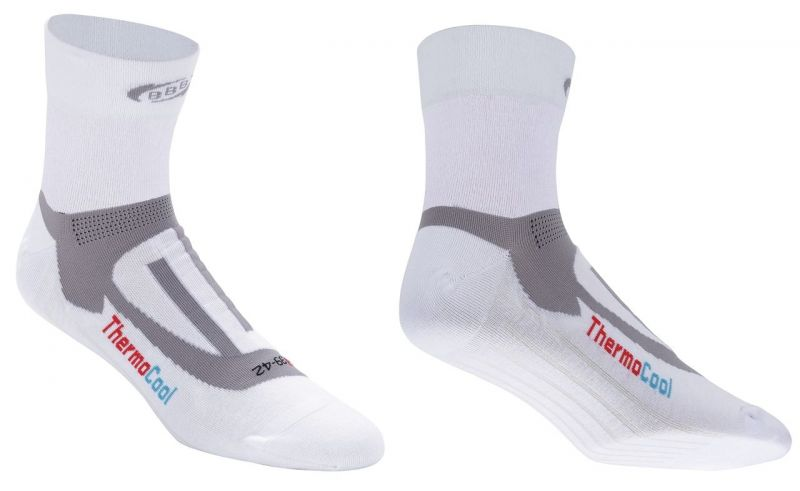 Chaussettes BBB ErgoFeet ThermoCool (blanc) - BSO-04