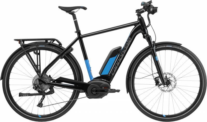 VTC électrique Cannondale Tesoro Neo 1 Noir/Bleu