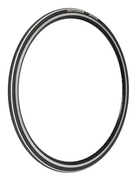 Pneu Hutchinson Equinox 2 700 x 23C TT TR Noir/Blanc