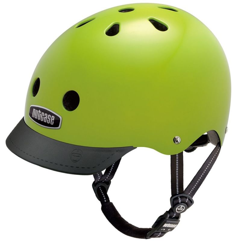 Casque Nutcase Supersolid Street Electric Olive