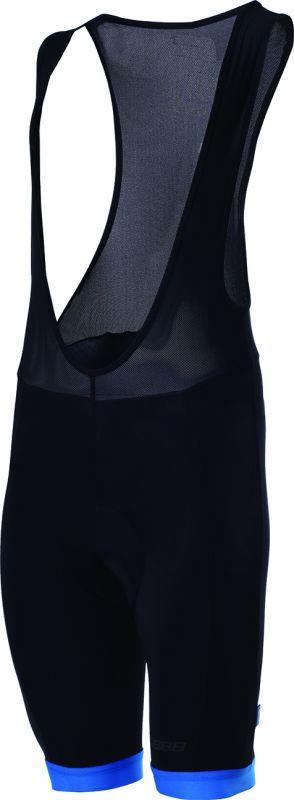 Cuissard à bretelles BBB Bib-Shorts Noir/Bleu - BBW-81