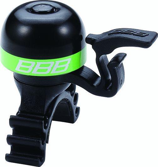 Sonnette légère BBB laiton MiniFit Noir/Vert - BBB-16