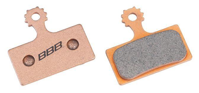 Plaquettes BBB DiscStop HP comp. Shimano XTR/XT métalliques - BBS-56S