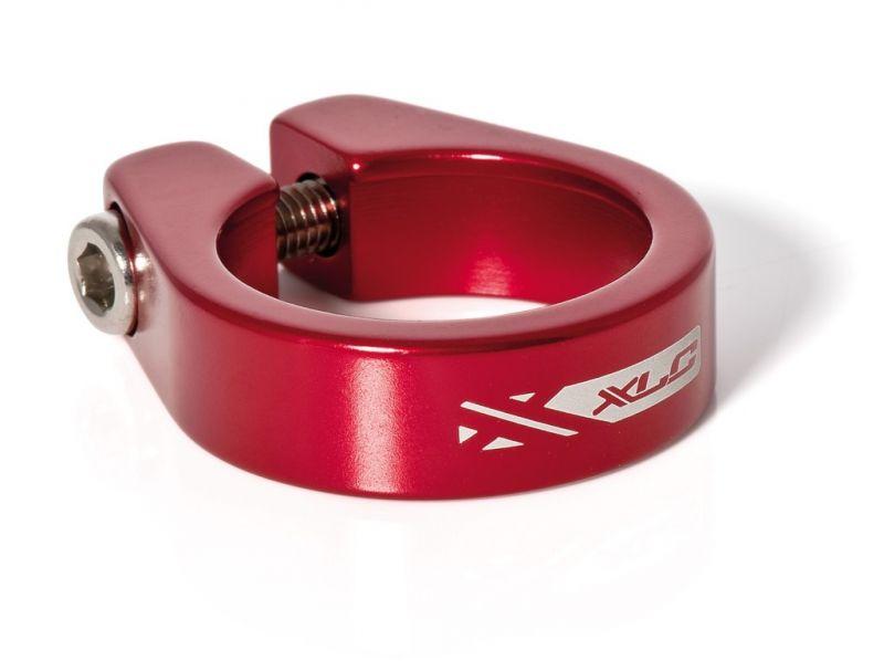 Collier de tige de selle XLC PC-B05 Alu 34,9 mm Rouge