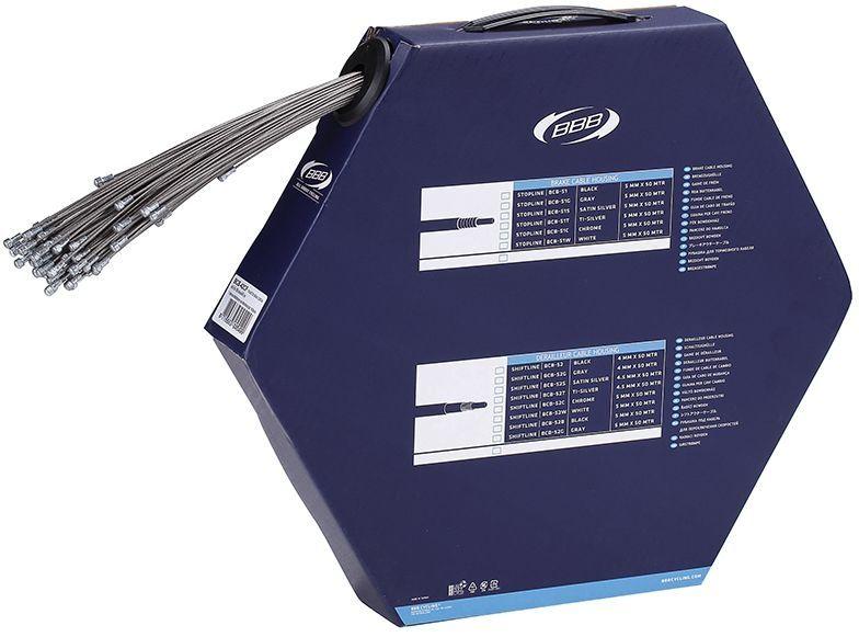Boîte de 100 câbles frein route BBB BrakeWire type Campa 1.5x900 mm - BCB-42CF
