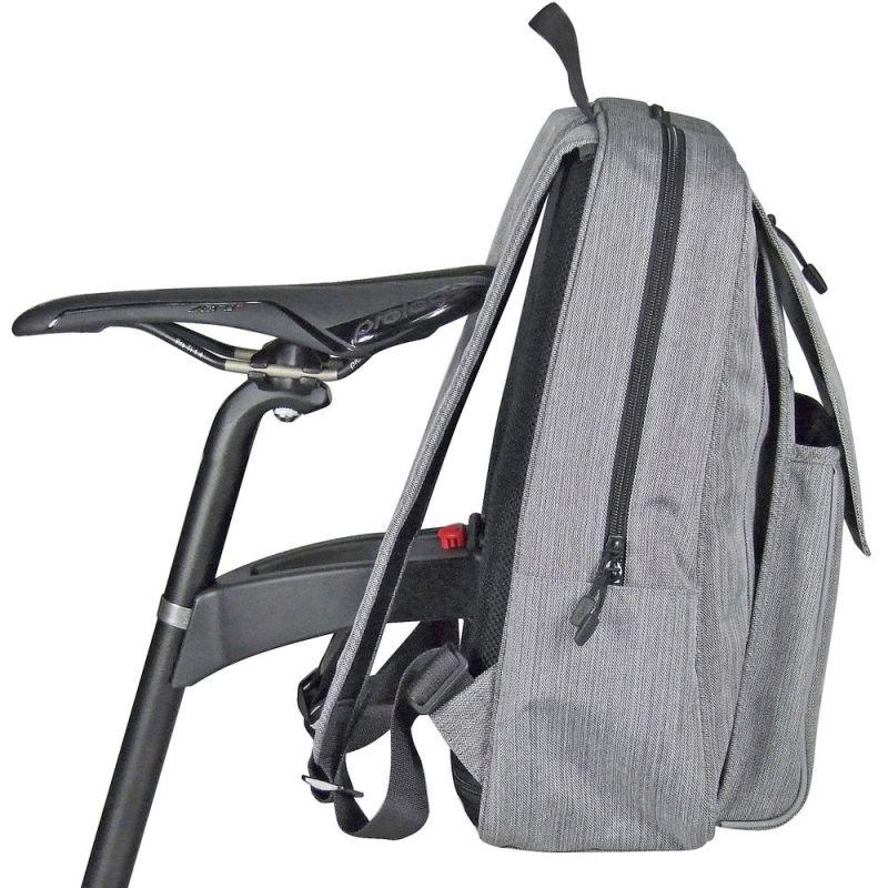 sac à dos KLICKfix Freepack City Gris - 3
