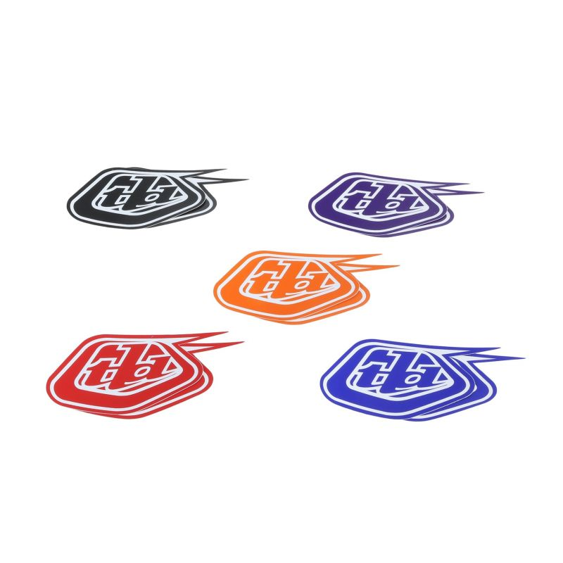 "Stickers Troy Lee Designs Shield 4"" (10 pièces) - 1"