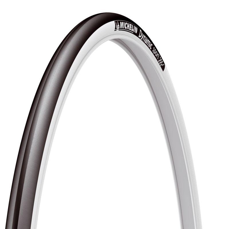 Pneu Michelin Dynamic Sport 700 x 23C TR Noir/Blanc