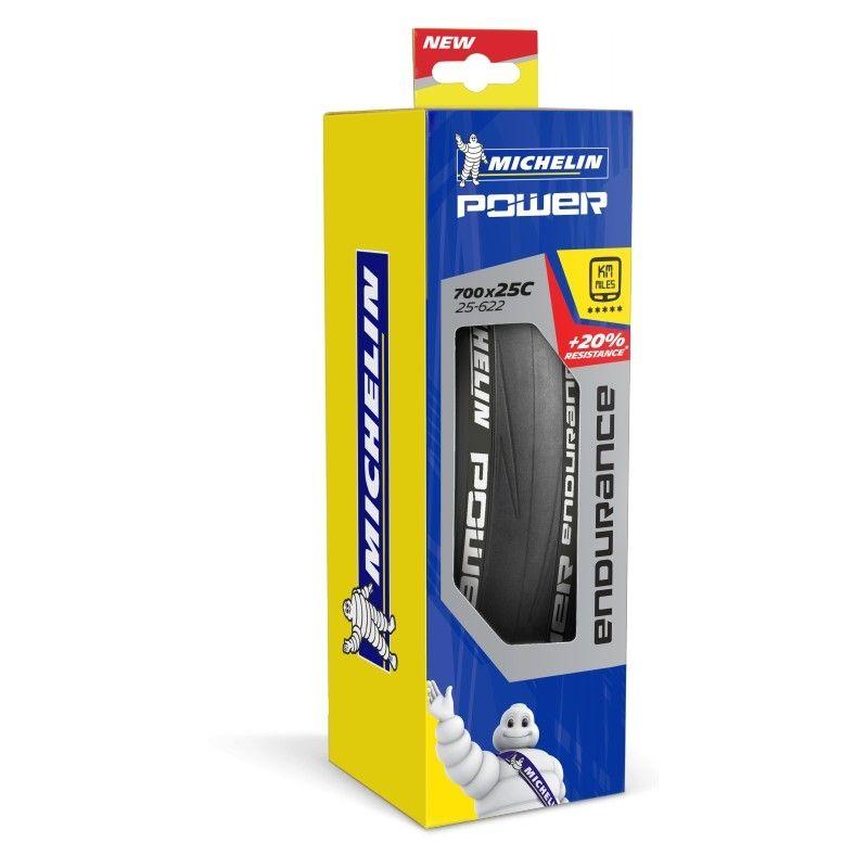 Pneu Michelin Power Endurance 700 x 25C TS Bleu - 2