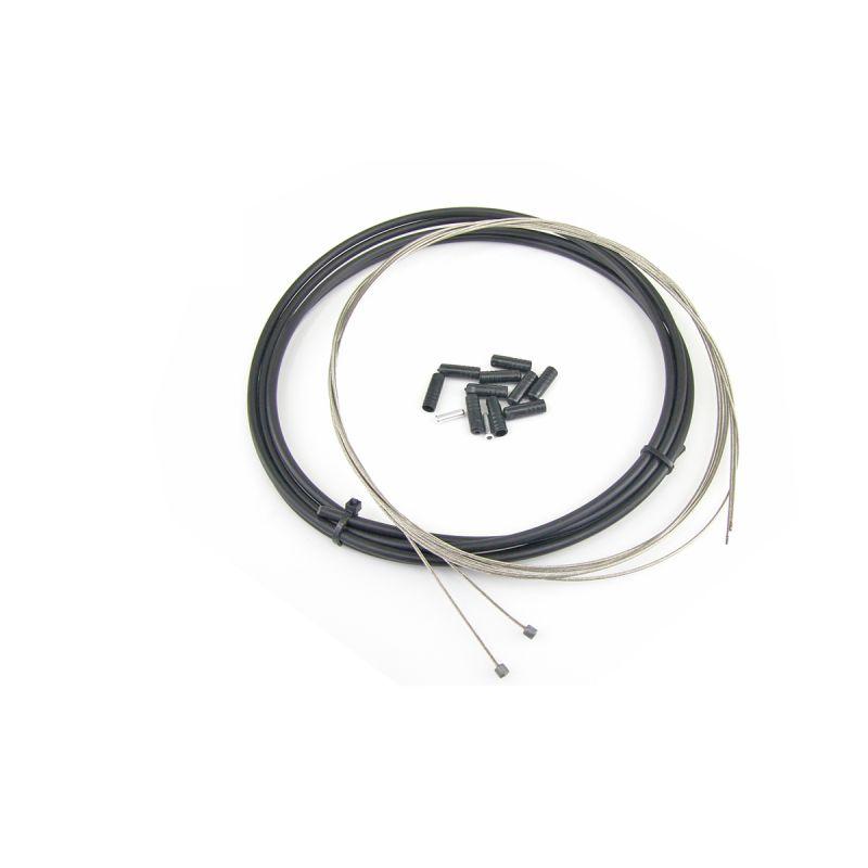 Kit WTP câbles et gaine de dérailleur Noir