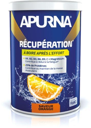 Boisson de récupération Apurna Orange Pot 400 g