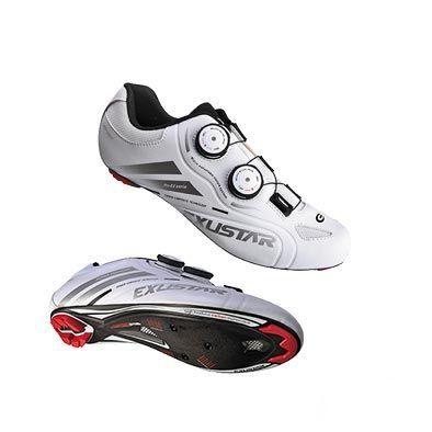 Chaussures route Exustar Advanced E-SR238-SL Carbone Blanc