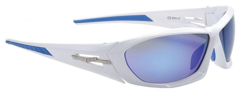 Lunettes BBB Rapid verres Revo bleu 3727 Blanc - BSG-37