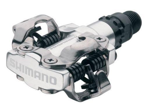Shimano PD-M520 pédales-Blanc