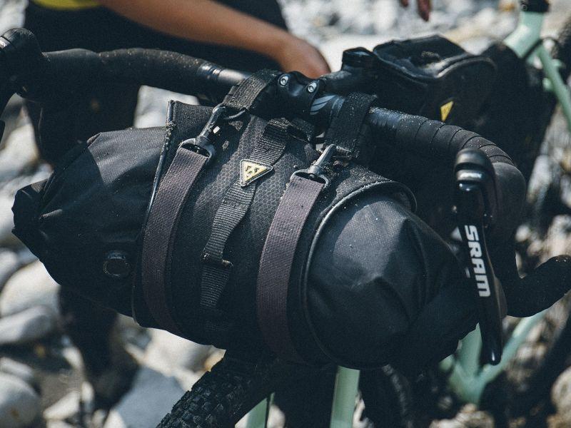 Sacoche de guidon Bikepacking Topeak FrontLoader 8 L Noir - 3