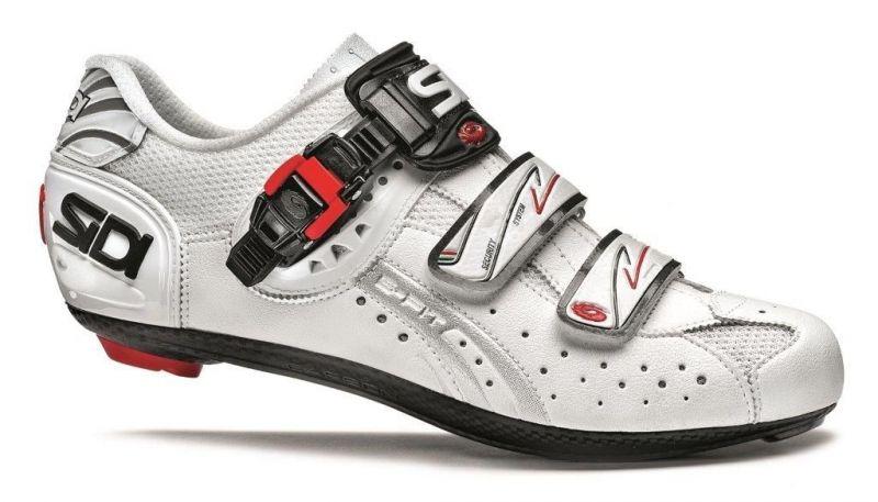 Chaussures Sidi GENIUS 5-FIT Carbon blanc mat