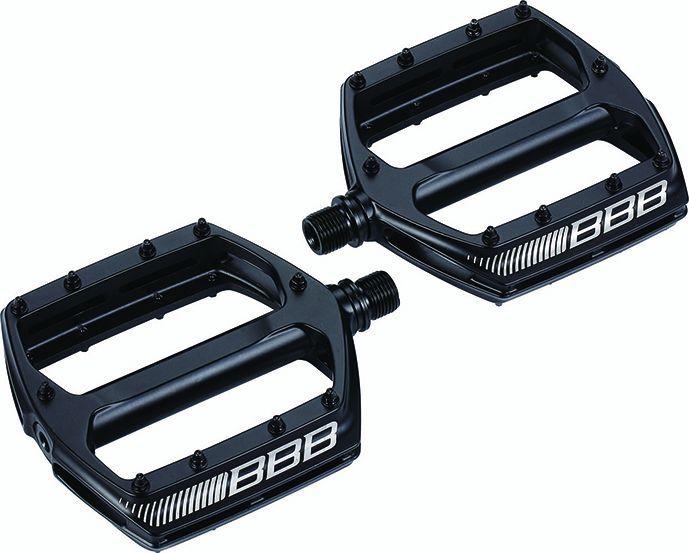 Pédales plates BBB CoolRide Noir - BPD-36 - 1