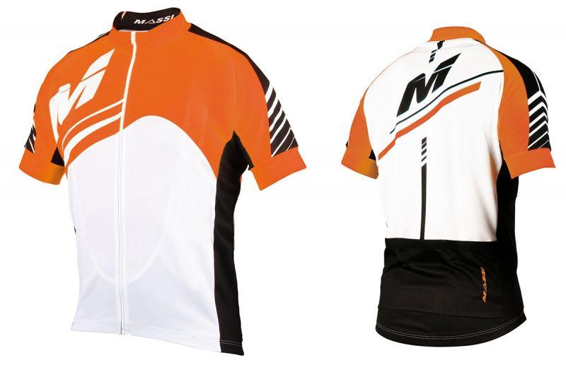 Maillot Massi Vesta Blanc/Orange