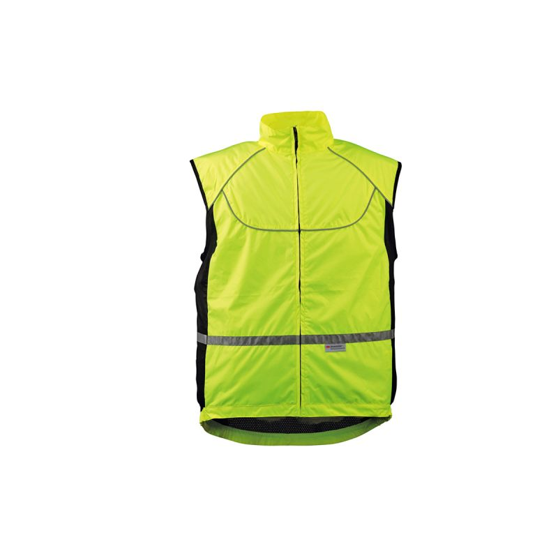 gilet v lo wowow sans manches fluo hot160 taille s sur ultime bike. Black Bedroom Furniture Sets. Home Design Ideas