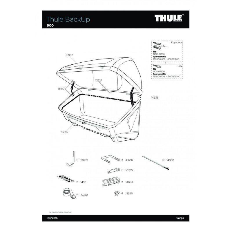 Molette Thule M8 - 13545 - 11