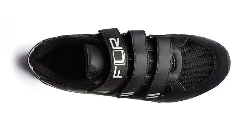 Chaussures Cyclo/Touring FLR Bushmaster Noir/Argent - 2