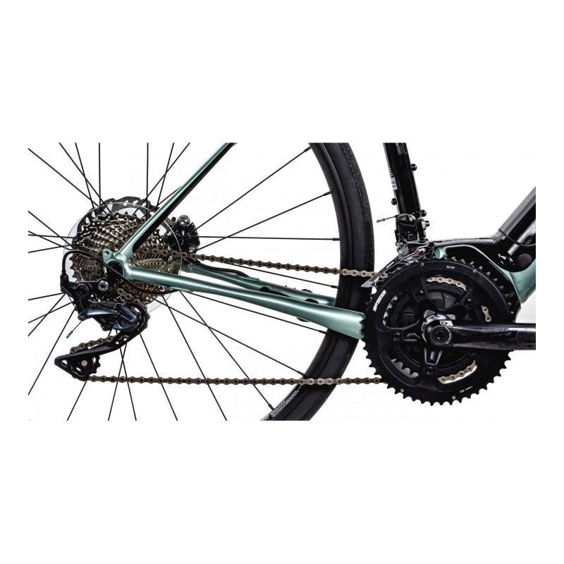 Vélo route électrique Cannondale Synapse NEO 2 Gris Sage/Jaune Volt - 4
