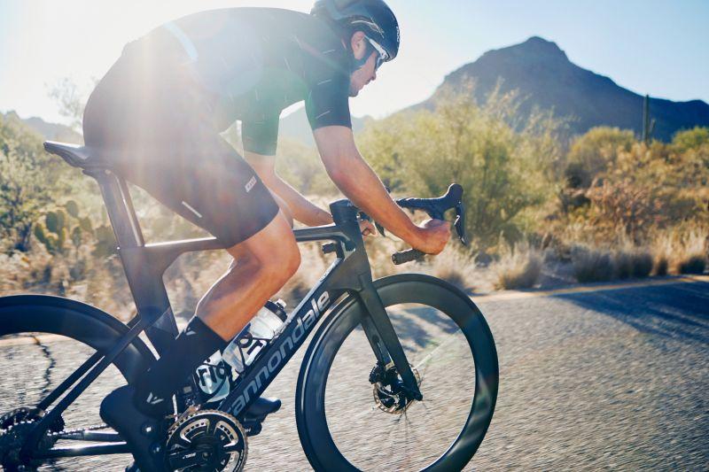 Vélo Cannondale SystemSix HM Dura-Ace Di2 Noir BBQ/Gris Stealth - 2