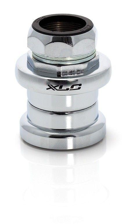 """Jeu de direction XLC HS-S01 1"""" ISO 22,2/34/26,4 mm Chrome"""