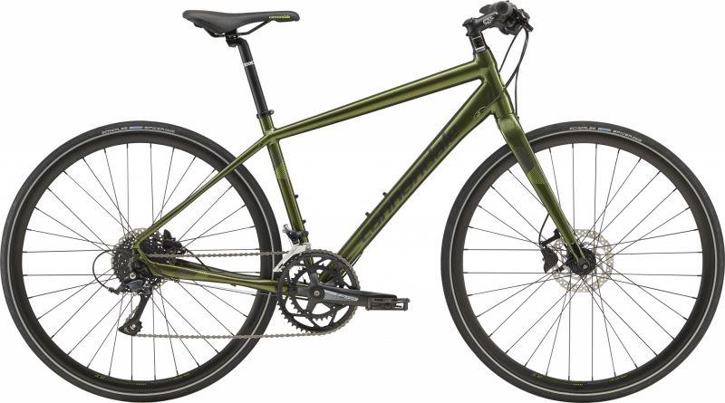 Vélo fitness Cannondale Quick Disc 3 Noir Vert Vulcan/Noir