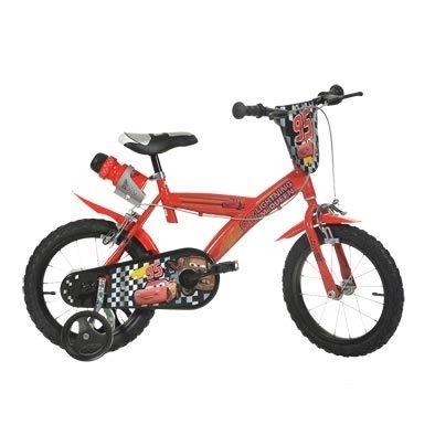"""Vélo enfant 14"""" Cars Rouge"""
