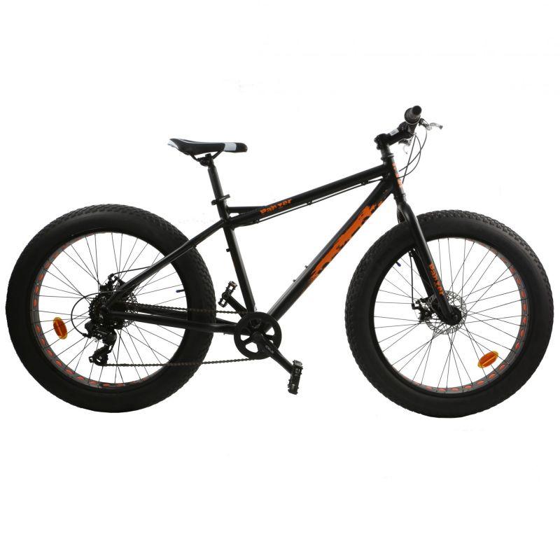 fat bike esperia noir mat orange pi ces v los complets sur ultime bike. Black Bedroom Furniture Sets. Home Design Ideas
