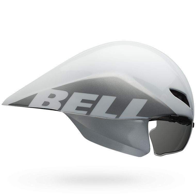 Casque Bell JAVELIN Blanc/Argent