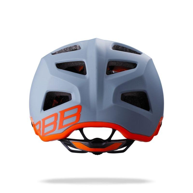 Casque BBB Ore Gris/Orange - BHE-58 - 1