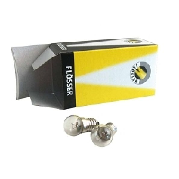 Ampoule Flosser 6V 2.4W E10 avant vélo (boîte de 10)