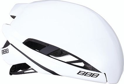 Coque pour casque BBB Icarus Snap-on Aéro Cover Blanc brillant - BHE-77